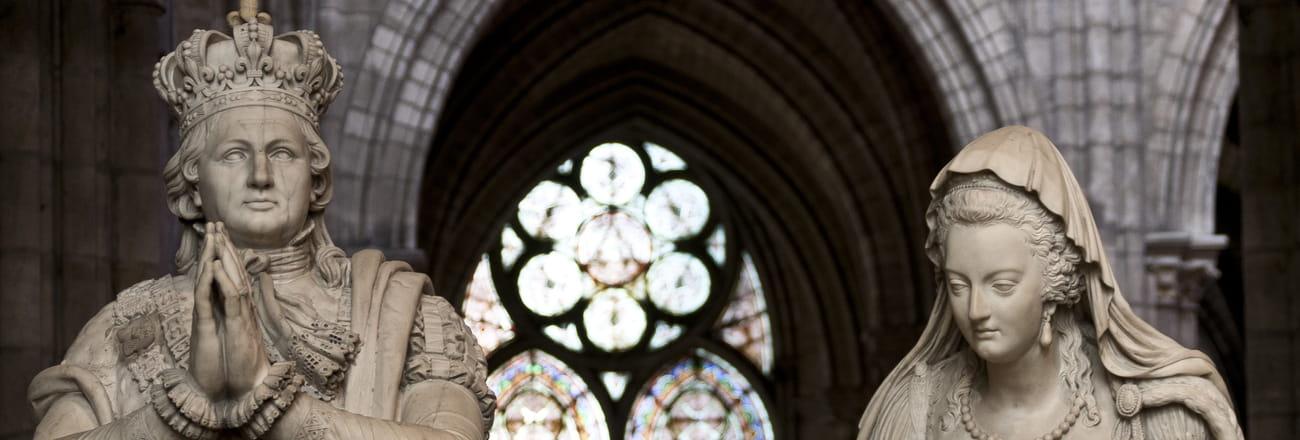 Visite de la Basilique de Saint-Denis, sépulture des rois de France