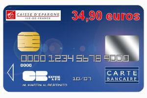 16e Caisse D Epargne Ile De France Avec Une Carte Bleue Visa Ou