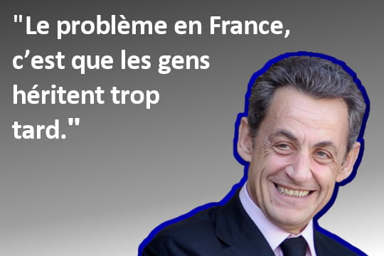 Nicolas Sarkozy, vivre moins vieux