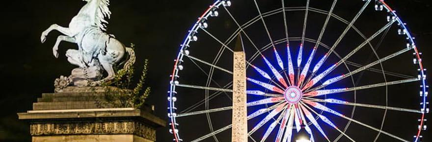 Paris parée pour les fêtes de Noël
