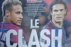 Clash Neymar/Cavani: la Une de l'Equipe ridiculisée sur Twitter