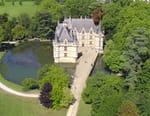 Les châteaux de la Loire vus du ciel
