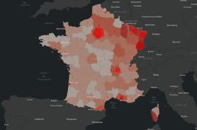 Covid-19en France: le dernier bilan chiffré