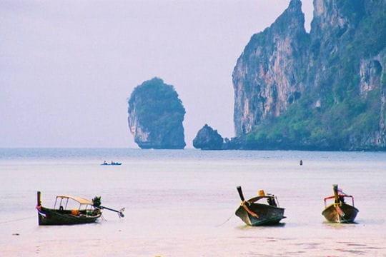 Taxiboats à Kho Phi Phi