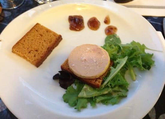 Entrée : La Table  - Entrée menu a 19€90 foie gras -