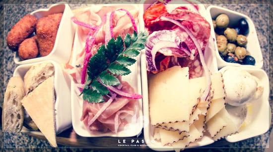 Plat : Le Paseo - Cocktail club & restaurant (Ex : LE SUD)  - Tapas charcuterie / fromage -   © Le Paseo - Cocktail club & Restaurant