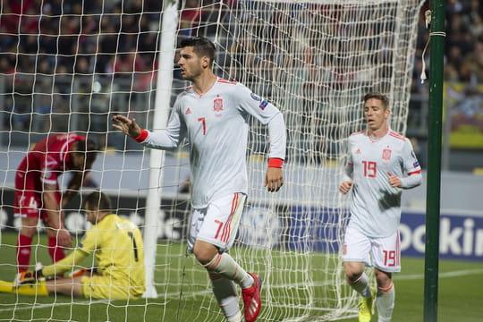Qualification Euro 2020: l'Italie et l'Espagne s'imposent, le classement des groupes