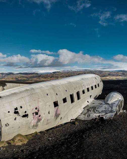 Le DC-3de l'US Navy en Islande