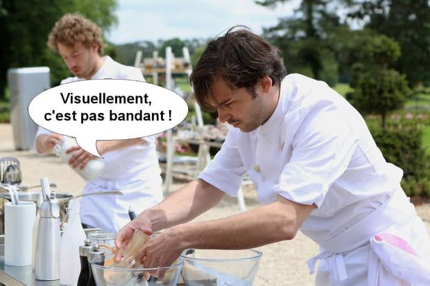"""Thibault, réaliste: """"Visuellement, c'est pas bandant!"""""""