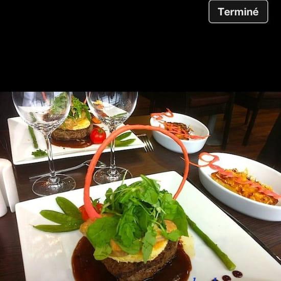 Plat : Restaurant le 15