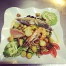 Entrée : Pascal Paoli  - Salade du pêcheur  -