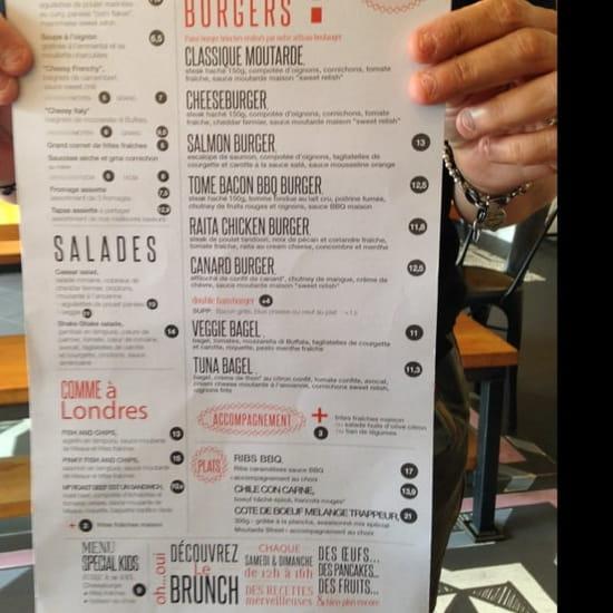 Restaurant : Moutarde street  - La nouvelle carte de Moutarde Street  -