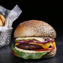 Plat : Yellow Kitchens  - Vegggie burger -   © Yellow Kitchens