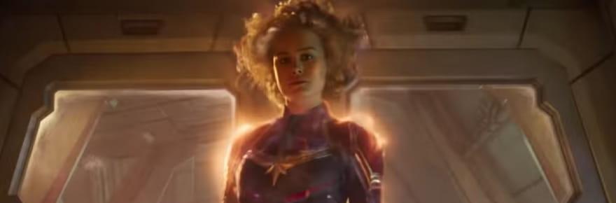 Brie Larson dans la bande-annonce de Captain Marvel