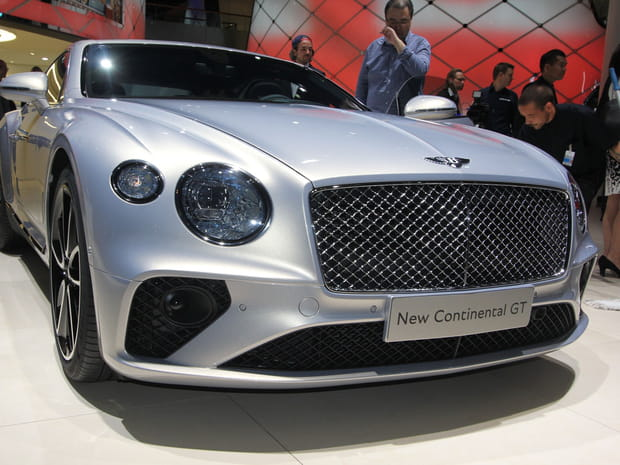 La Bentley Continental GT en images