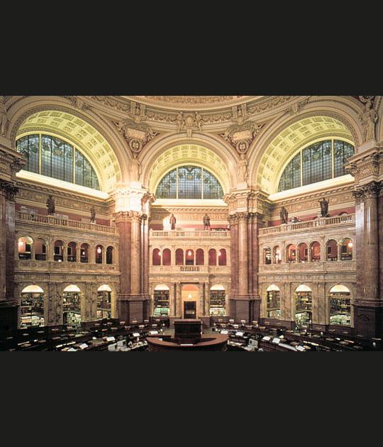 La bibliothèque du Congrès aux Etats-Unis