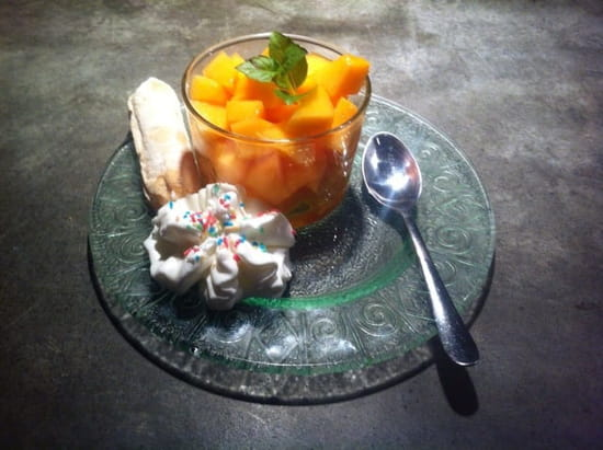 Dessert : L'Atelier Côté Rhône