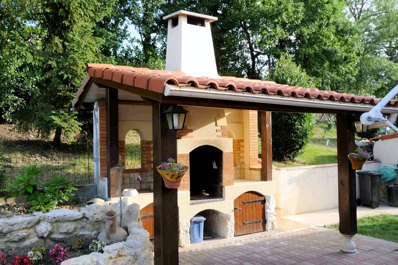Un barbecue maison for Lecteur biometrique exterieur