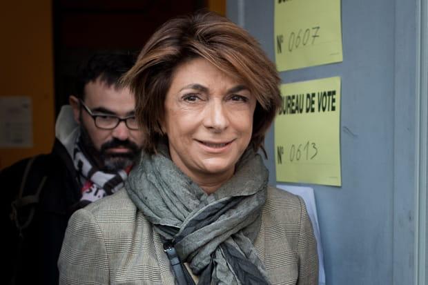 La candidate LR Martine Vassal