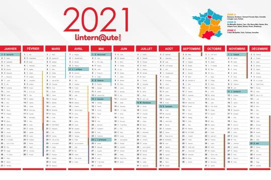 Jours fériés 2021: dates et calendrier complet, les jours à poser pour plus de vacances