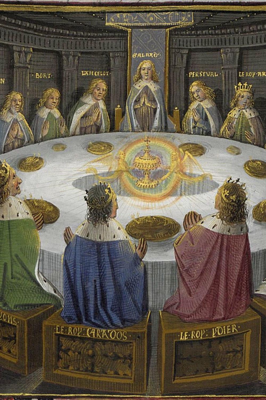 Les chevaliers de la table ronde une invention - Expose sur les chevaliers de la table ronde ...