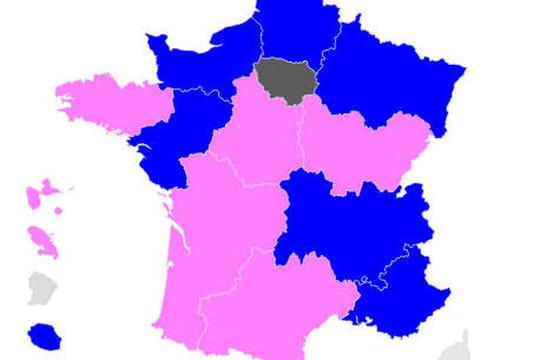 Résultat élection: trois scores, une carte [SYNTHESE]