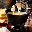 Fromage : Le Chalet du Sire  - Fondue -   © Chalet du Sire