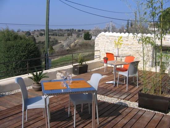 Le Sainte Anne  - la terrasse -