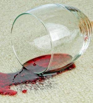 Retirer une tache de vin - Comment enlever une tache de vin rouge deja lave ...