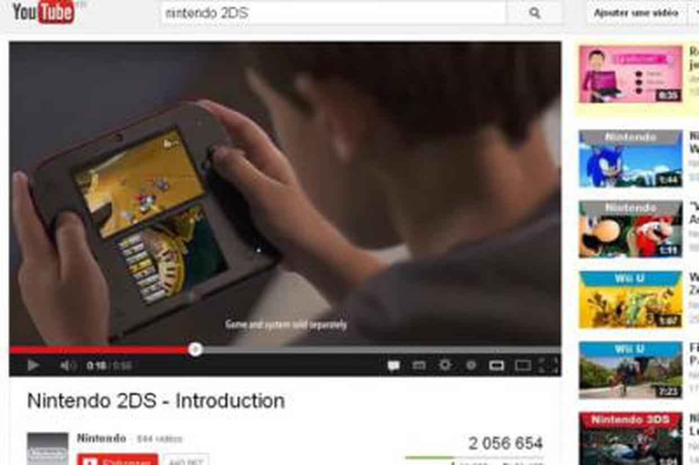 Nintendo 2ds une nouvelle console low cost sans la 3d - Nouvelle console de jeux ...