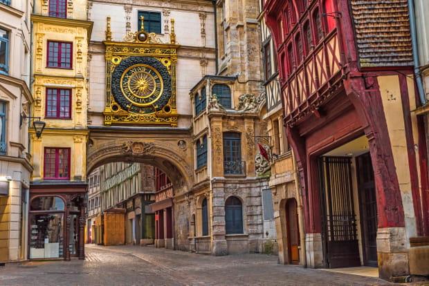 Le Gros-Horloge, Rouen