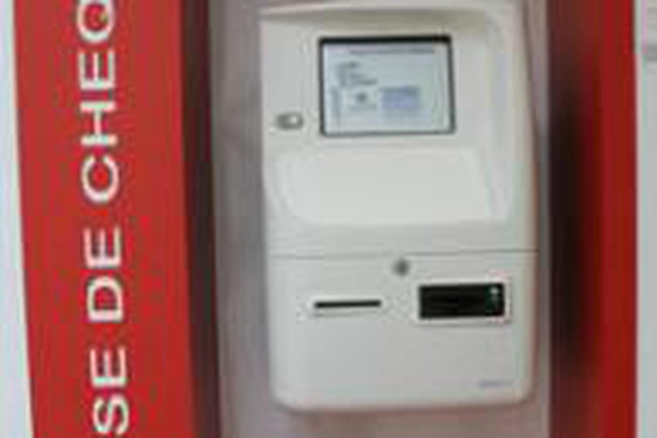 Un Automate Pour Deposer Vos Cheques