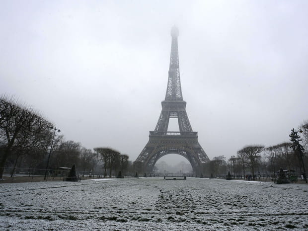 PHOTOS - Les images de la neige à Paris et en France
