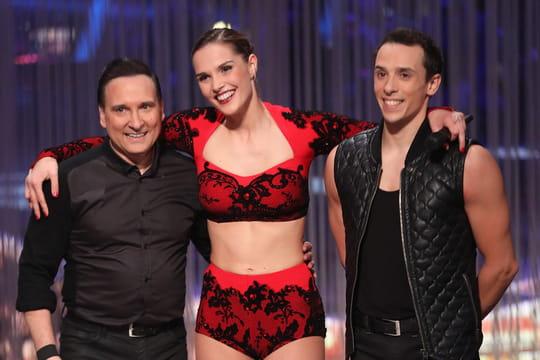 Laurent Maistret, Camille Lou et Artus en finale de Danse avec les Stars 2016