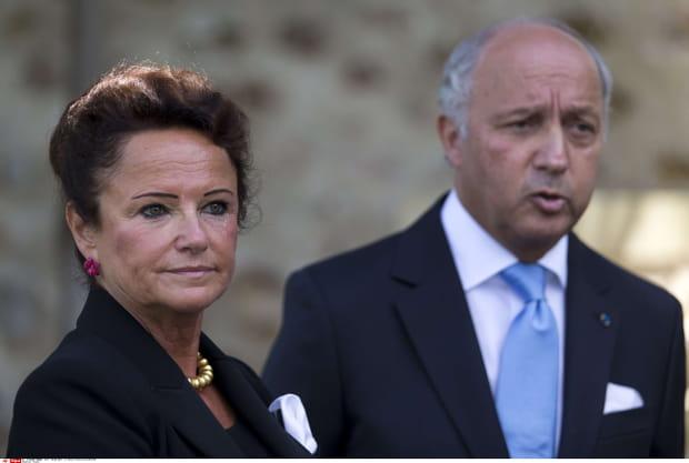 Marie-France Marchand Baylet et Laurent Fabius