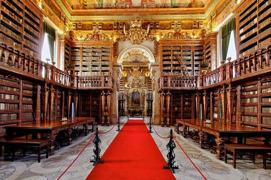La bibliothèque Joanina au Portugal