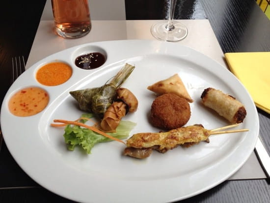 Entrée : Mai Tai  - Assiette gourmande hmmm! -