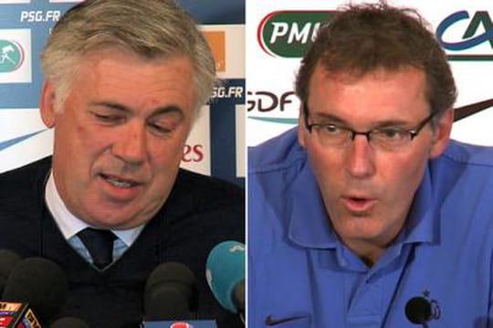 PSG: Ancelotti remplacé parLaurent Blanc?