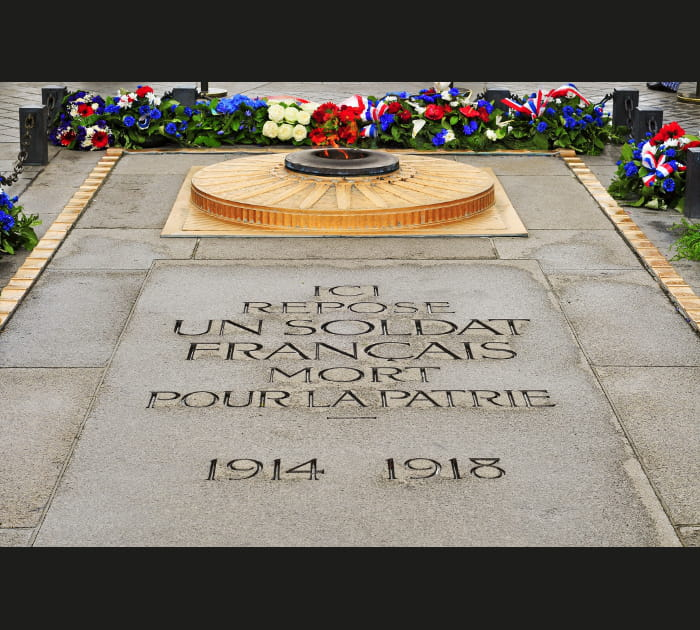 La Tombe du Soldat inconnu, Paris