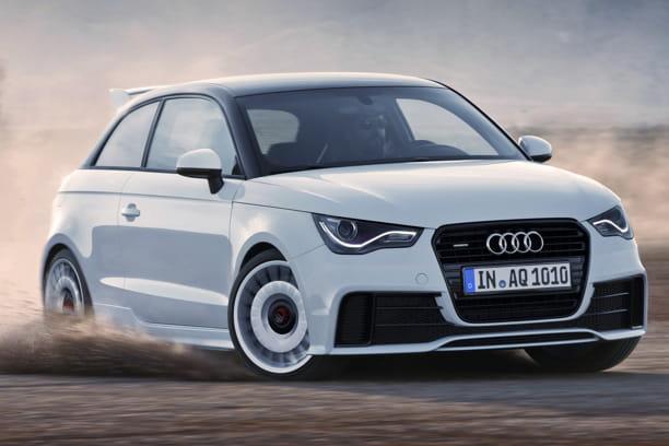 Audi A1quattro: citadine dopée