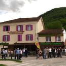La Maison Lacube  - façade du restaurant -   © raphael kann