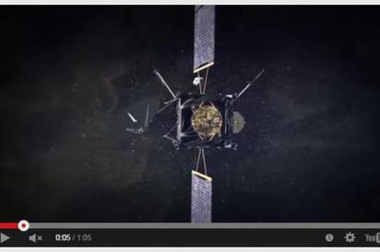Philae : le robot a atterri sur la comète