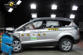 Crash-tests 2013 : les crossovers, SUV et monospaces les plus sûrs