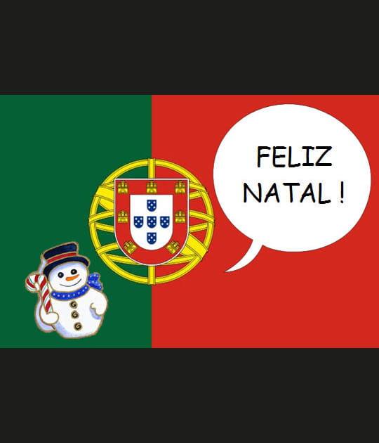 """Comment dit-on """"Joyeux Noël""""... En portugais"""
