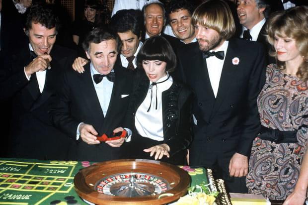 Avec Mireille Mathieu et Gérard Depardieu