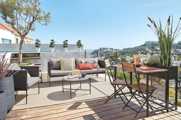 25conseils et idées déco pour aménager un balcon