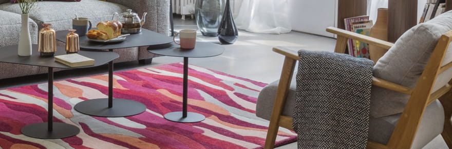 Notre sélection de tapis pour réchauffer votre intérieur
