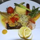 Bistro du Carre des Sens  - Pavé de saumon sauce vierge -   © mildrede De Bie