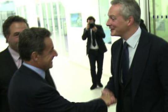 """Sarkozy - Le Maire: leprésident faché et""""sonné"""", l'outsider savoure"""