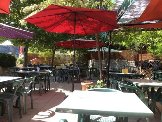 Restaurant : Le Camargue  - La terrasse -